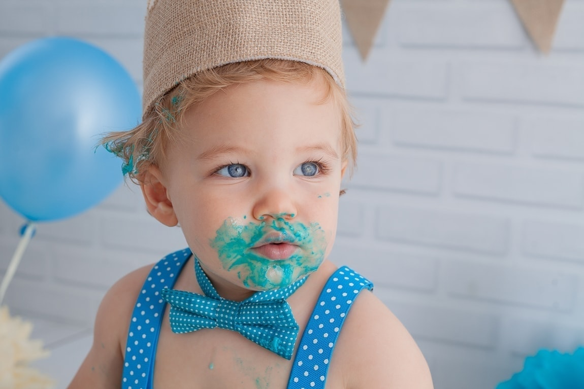 sesiones cake smash fotografia en estudio campo de gibraltar algeciras